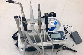 ポータブル治療ユニット(使用時)